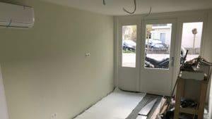 Garage verbouwen naar kapsalon Haarsalon Samantha 19